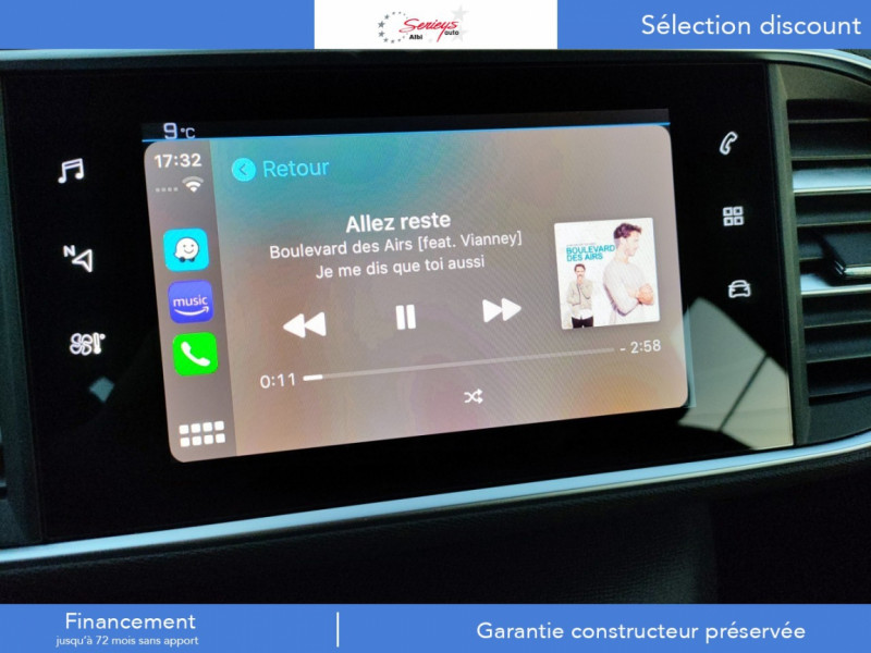 Photo 9 de l'offre de PEUGEOT 308 Active Pack BlueHDi 130 CAMERA+GPS+JA à 20800€ chez Garage Serieys Auto
