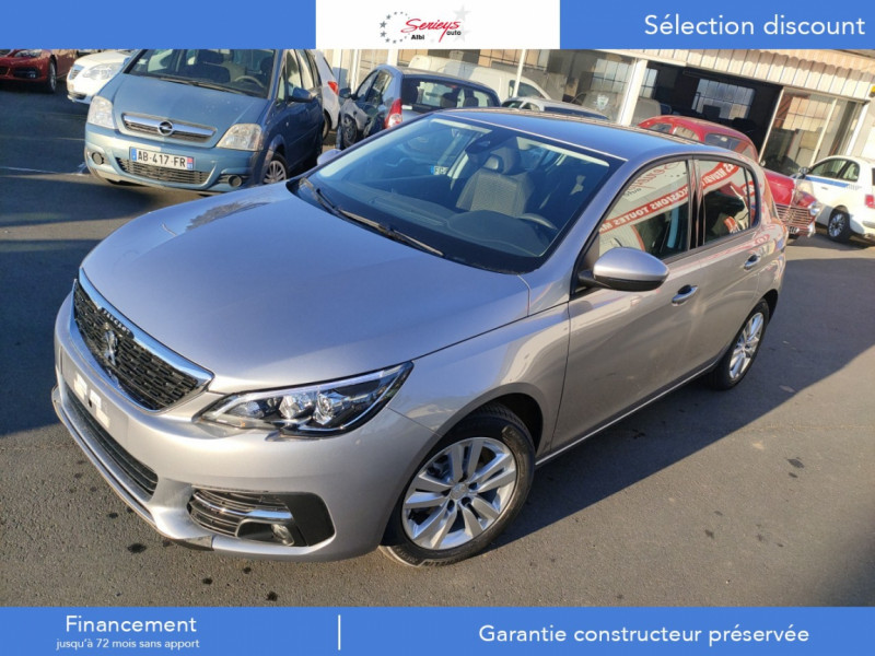 Photo 22 de l'offre de PEUGEOT 308 Active Pack BlueHDi 130 CAMERA+GPS+JA à 20800€ chez Garage Serieys Auto