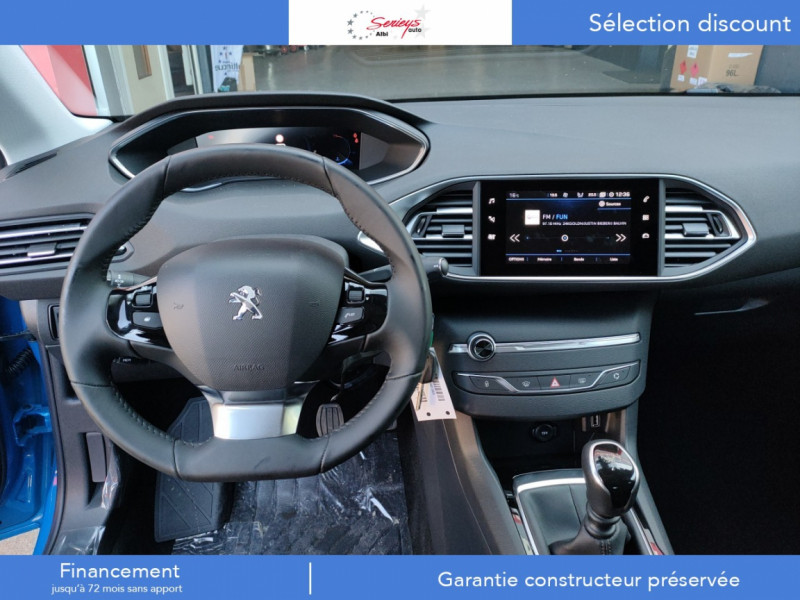 Photo 4 de l'offre de PEUGEOT 308 Active Pack BlueHDi 130 GPS+Camera AR à 20980€ chez Garage Serieys Auto