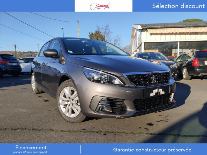 Photo 14 de l'offre de PEUGEOT 308 Active Pack BlueHDi 130 CAMERA+GPS+JA à 20800€ chez Garage Serieys Auto