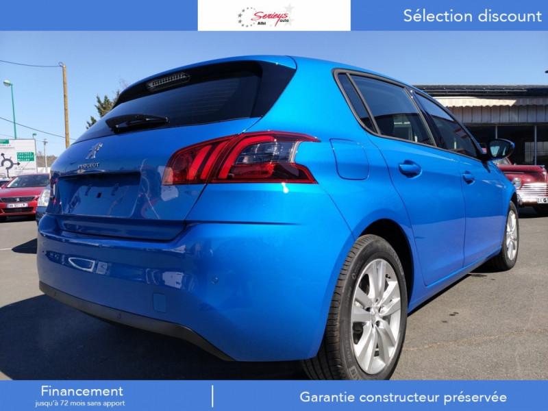 Photo 9 de l'offre de PEUGEOT 308 Active Pack BlueHDi 130 GPS+Camera AR à 20980€ chez Garage Serieys Auto