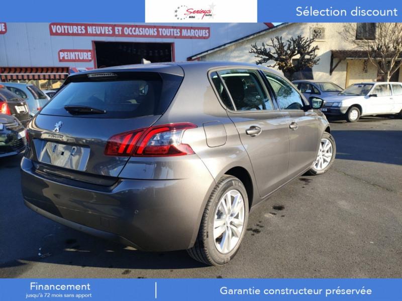 Photo 6 de l'offre de PEUGEOT 308 Active Pack BlueHDi 130 CAMERA+GPS+JA à 20800€ chez Garage Serieys Auto
