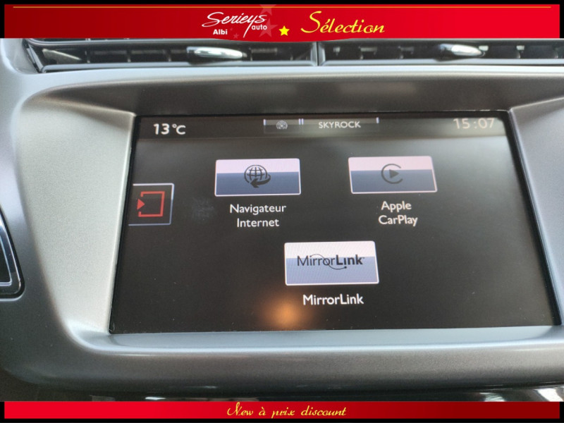 Photo 24 de l'offre de CITROEN C3 Feel Edition BlueHDi 75 GPS+CAMERA+JA à 9680€ chez Garage Serieys Auto