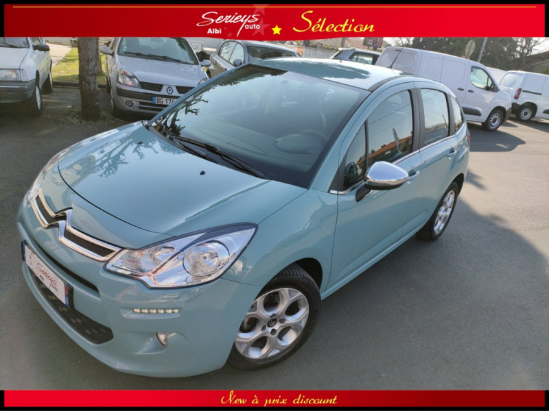 Photo 1 de l'offre de CITROEN C3 Feel Edition BlueHDi 75 GPS+CAMERA+JA à 9680€ chez Garage Serieys Auto