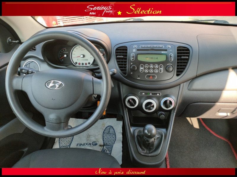 Photo 20 de l'offre de HYUNDAI i10 Pack 1.1 CRDi 75 - A SAISIR à 3980€ chez Garage Serieys Auto