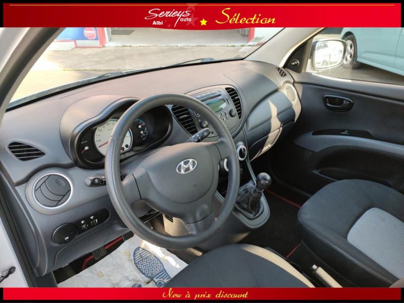 Photo 5 de l'offre de HYUNDAI i10 Pack 1.1 CRDi 75 - A SAISIR à 3980€ chez Garage Serieys Auto
