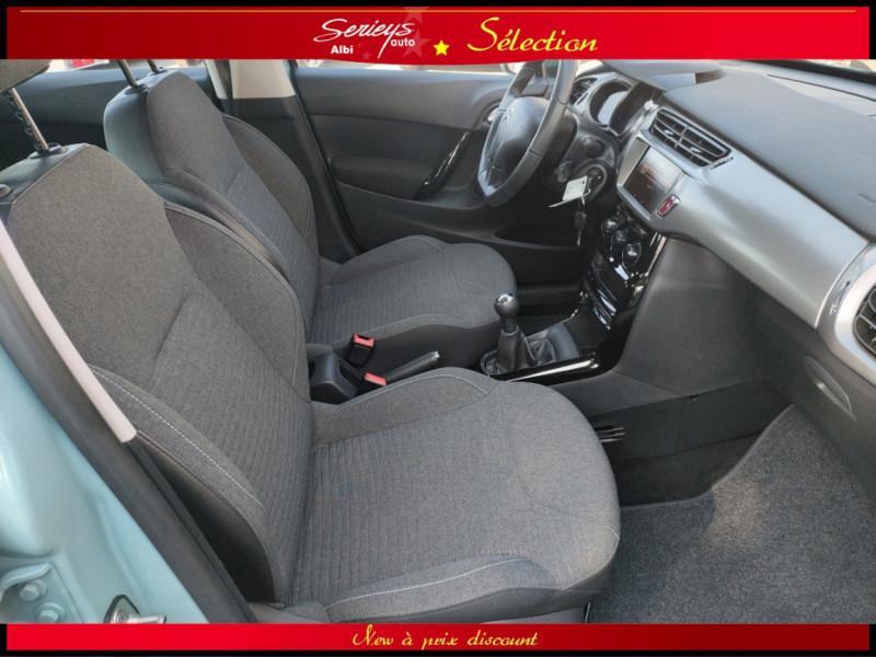 Photo 5 de l'offre de CITROEN C3 Feel Edition BlueHDi 75 GPS+CAMERA+JA à 9680€ chez Garage Serieys Auto