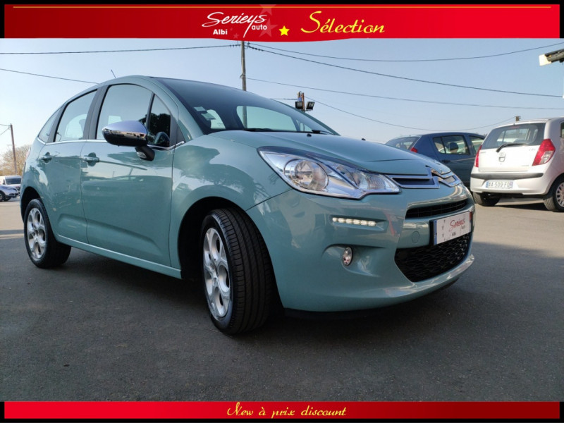 Photo 20 de l'offre de CITROEN C3 Feel Edition BlueHDi 75 GPS+CAMERA+JA à 9680€ chez Garage Serieys Auto