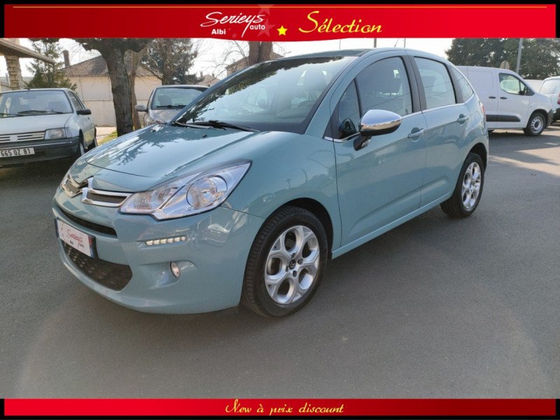 Photo 25 de l'offre de CITROEN C3 Feel Edition BlueHDi 75 GPS+CAMERA+JA à 9680€ chez Garage Serieys Auto