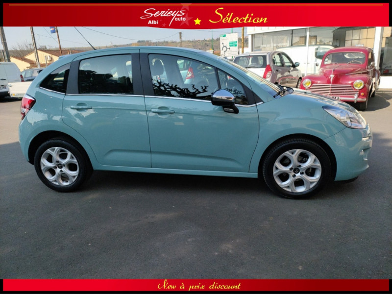 Photo 3 de l'offre de CITROEN C3 Feel Edition BlueHDi 75 GPS+CAMERA+JA à 9680€ chez Garage Serieys Auto