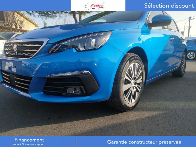 Photo 18 de l'offre de PEUGEOT 308 Allure Pack BlueHDi 130 EAT8 Full Led+JA16 Biton à 24480€ chez Garage Serieys Auto