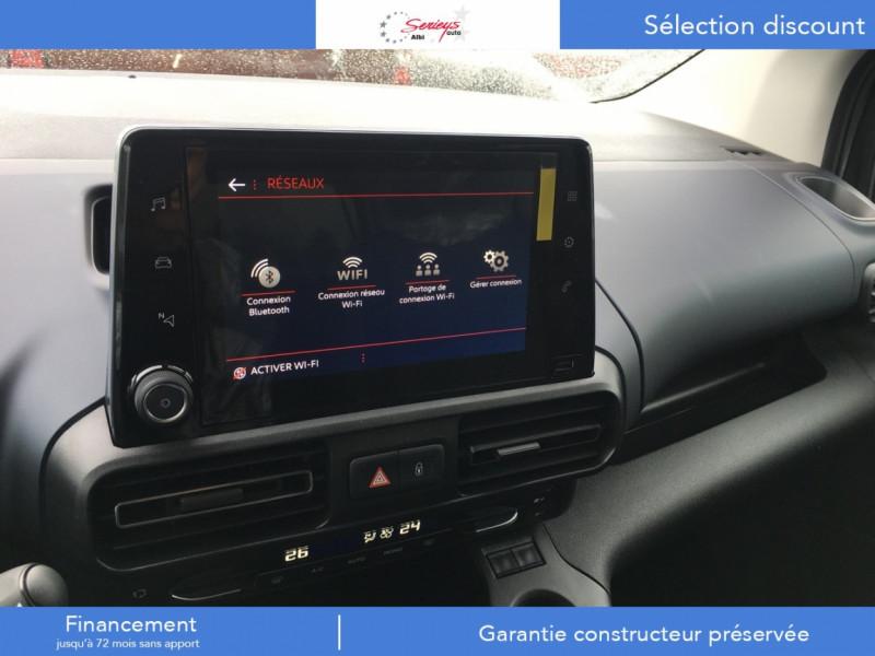 Photo 15 de l'offre de PEUGEOT RIFTER Allure Pack BlueHDi 130 GPS+Camera à 24680€ chez Garage Serieys Auto