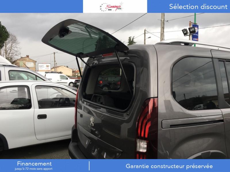 Photo 4 de l'offre de PEUGEOT RIFTER Allure Pack BlueHDi 130 GPS+Camera à 24680€ chez Garage Serieys Auto