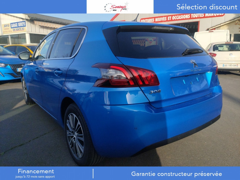 Photo 25 de l'offre de PEUGEOT 308 Allure Pack BlueHDi 130 EAT8 Full Led+JA16 Biton à 24480€ chez Garage Serieys Auto