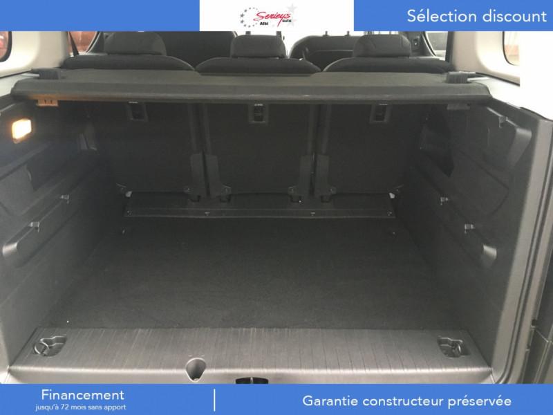 Photo 8 de l'offre de PEUGEOT RIFTER Allure Pack BlueHDi 130 GPS+Camera à 24680€ chez Garage Serieys Auto