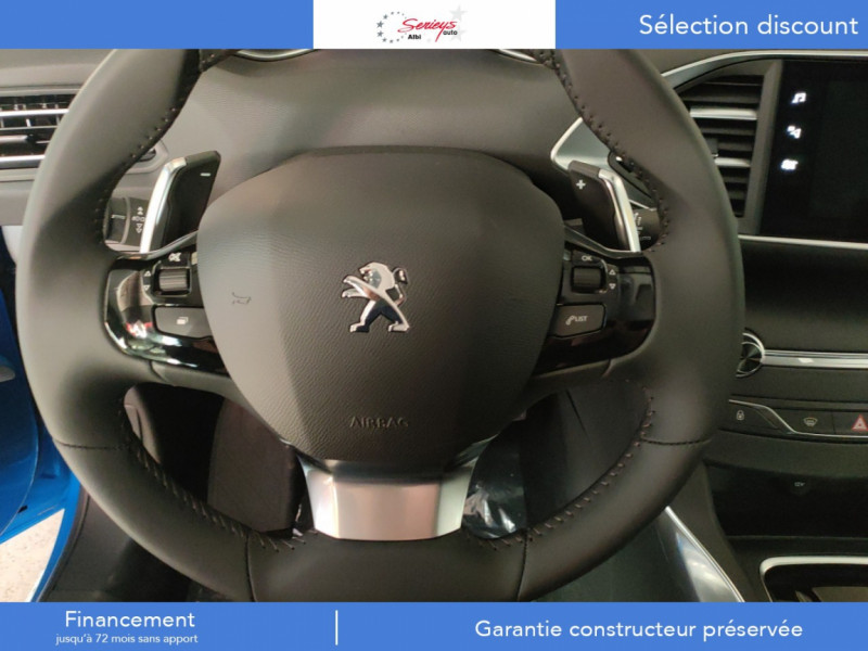 Photo 6 de l'offre de PEUGEOT 308 Allure Pack BlueHDi 130 EAT8 Full Led+JA16 Biton à 24480€ chez Garage Serieys Auto