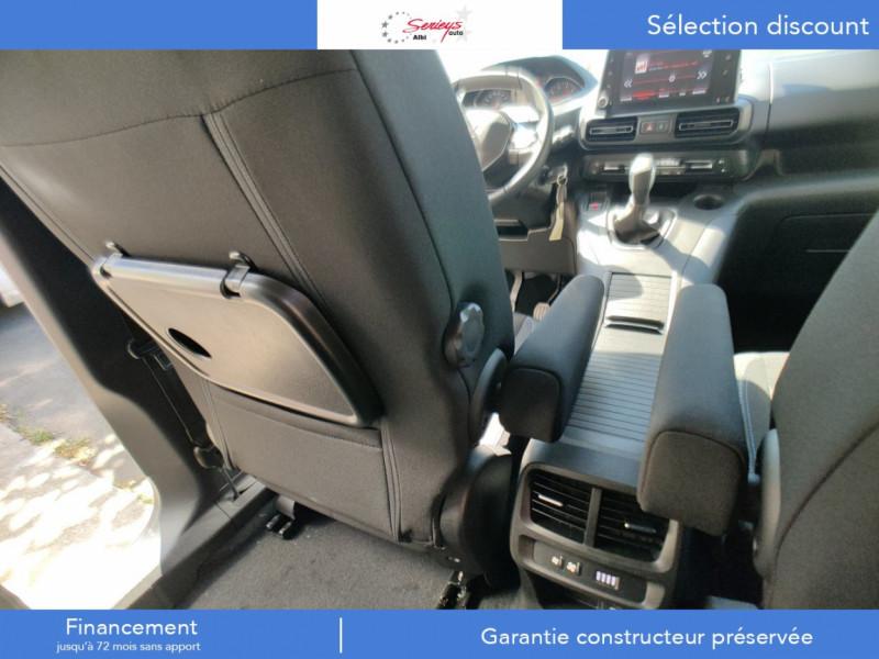 Photo 20 de l'offre de PEUGEOT RIFTER Allure Pack BlueHDi 130 GPS+Camera à 24680€ chez Garage Serieys Auto