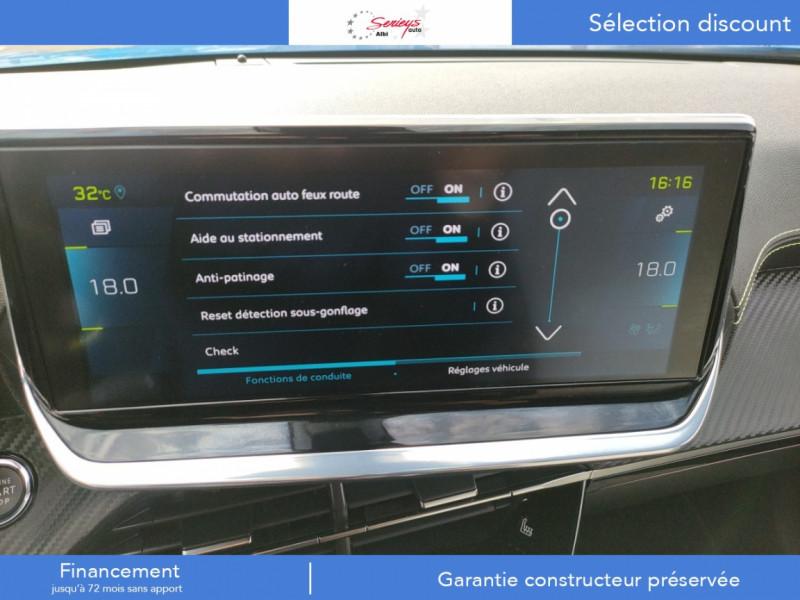 Photo 49 de l'offre de PEUGEOT 2008 GT ELEC 136CV TOIT PANO+CAM AR à 29680€ chez Garage Serieys Auto