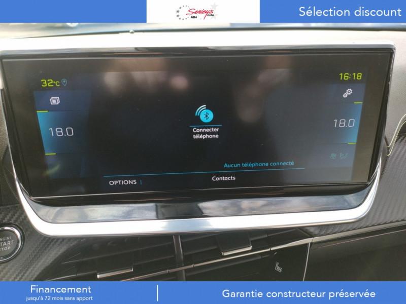 Photo 12 de l'offre de PEUGEOT 2008 GT ELEC 136CV TOIT PANO+CAM AR à 29680€ chez Garage Serieys Auto