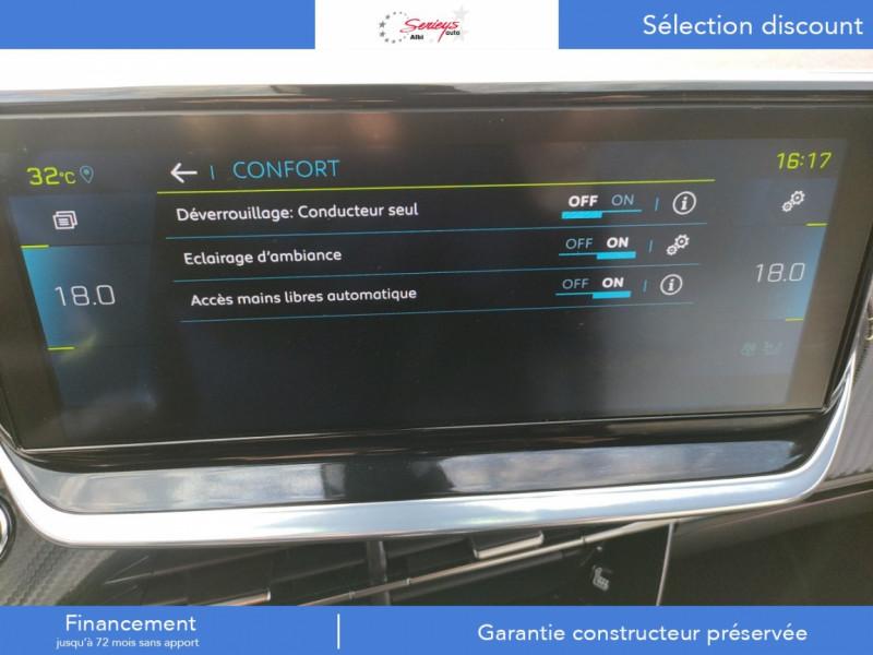Photo 6 de l'offre de PEUGEOT 2008 GT ELEC 136CV TOIT PANO+CAM AR à 29680€ chez Garage Serieys Auto