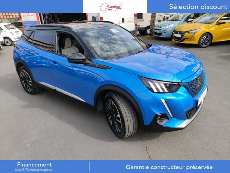 Photo 31 de l'offre de PEUGEOT 2008 GT ELEC 136CV TOIT PANO+CAM AR à 29680€ chez Garage Serieys Auto