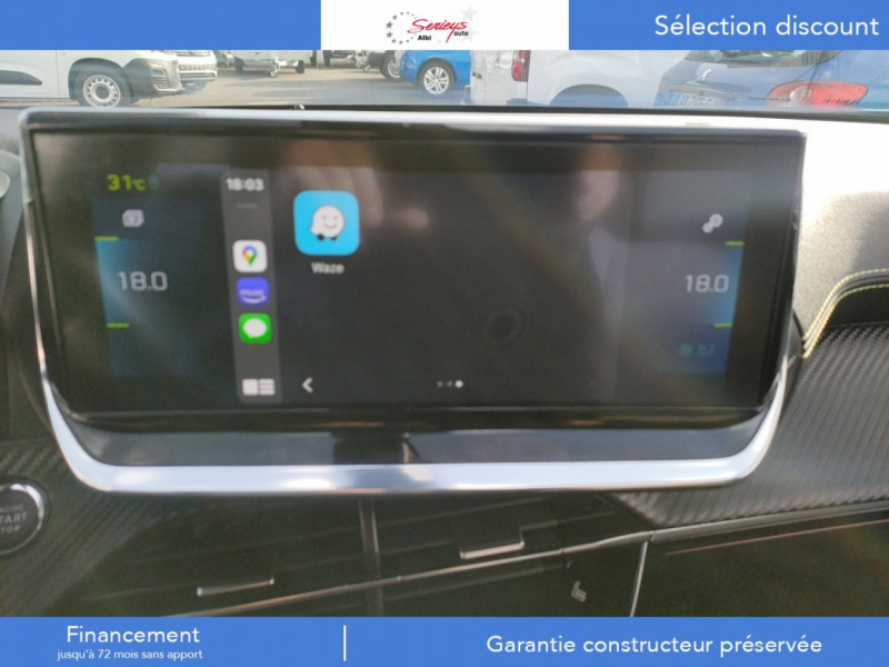 Photo 36 de l'offre de PEUGEOT 2008 GT ELEC 136CV TOIT PANO+CAM AR à 29680€ chez Garage Serieys Auto