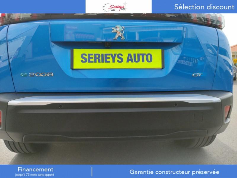 Photo 3 de l'offre de PEUGEOT 2008 GT ELEC 136CV TOIT PANO+CAM AR à 29680€ chez Garage Serieys Auto
