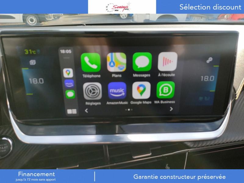 Photo 41 de l'offre de PEUGEOT 2008 GT ELEC 136CV TOIT PANO+CAM AR à 29680€ chez Garage Serieys Auto