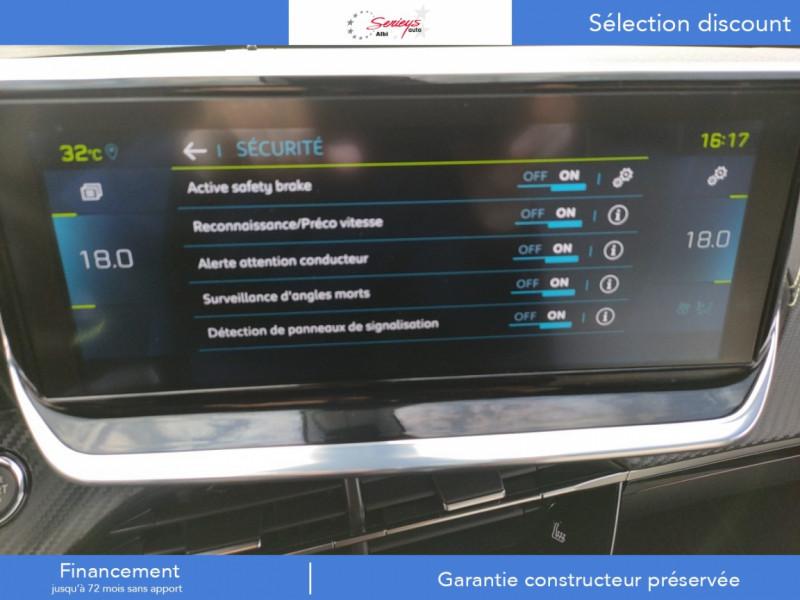 Photo 4 de l'offre de PEUGEOT 2008 GT ELEC 136CV TOIT PANO+CAM AR à 29680€ chez Garage Serieys Auto