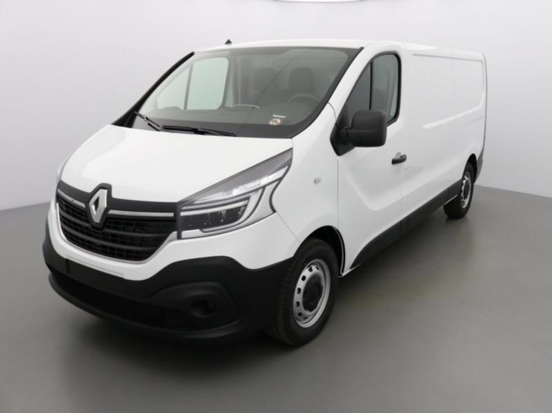 Renault TRAFIC FGN GRAND CONFORT DCI 145 L2H1 Attelage+GPS+GRIP Diesel BLANC Neuf à vendre