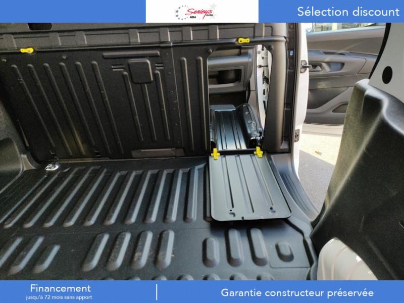 Photo 33 de l'offre de PEUGEOT PARTNER FGN PRO BLUEHDI 100 STD CAMERA+3PL à 18480€ chez Garage Serieys Auto