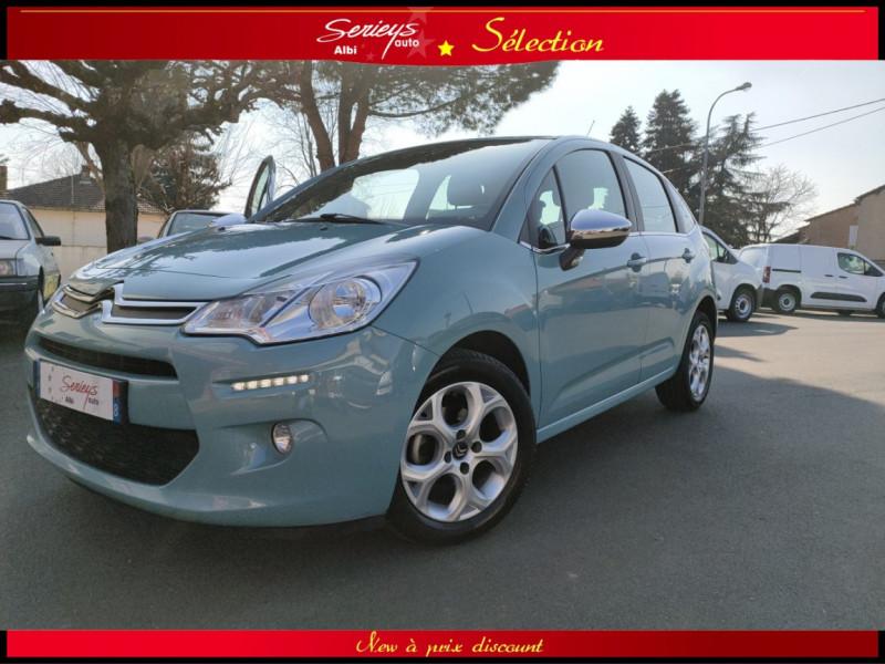 Photo 16 de l'offre de CITROEN C3 Feel Edition BlueHDi 75 GPS+CAMERA+JA à 9680€ chez Garage Serieys Auto