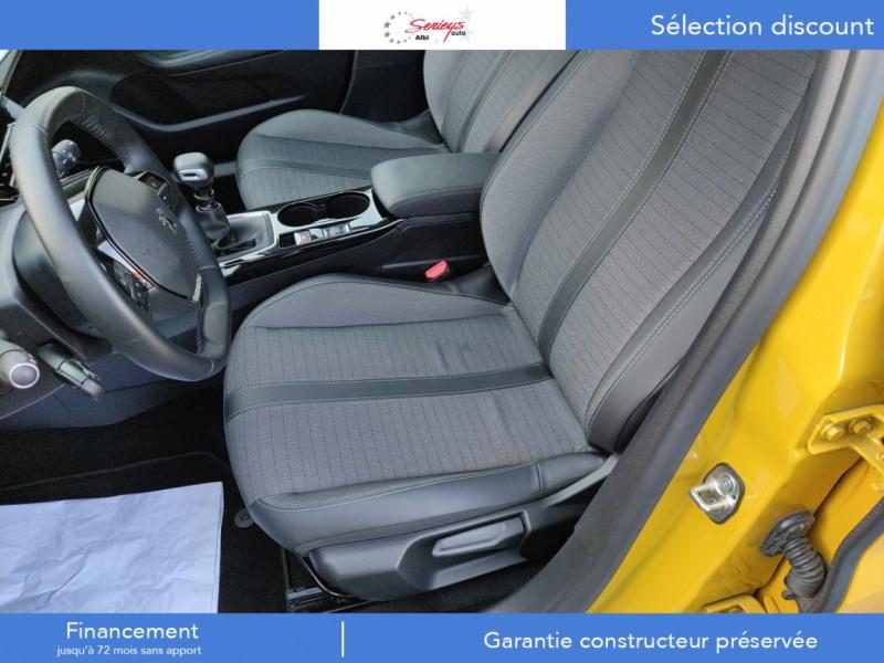 Photo 6 de l'offre de PEUGEOT 208 Allure Pack BlueHDi 100 Camera AR GPS à 19380€ chez Garage Serieys Auto