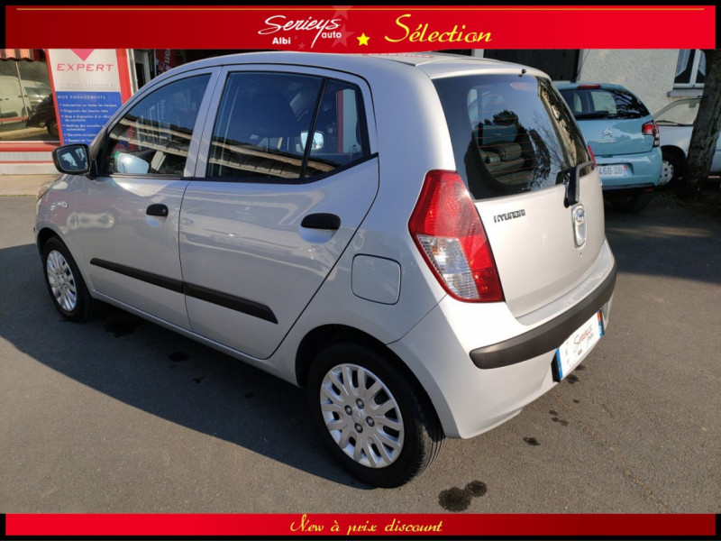 Photo 14 de l'offre de HYUNDAI i10 Pack 1.1 CRDi 75 - A SAISIR à 3980€ chez Garage Serieys Auto