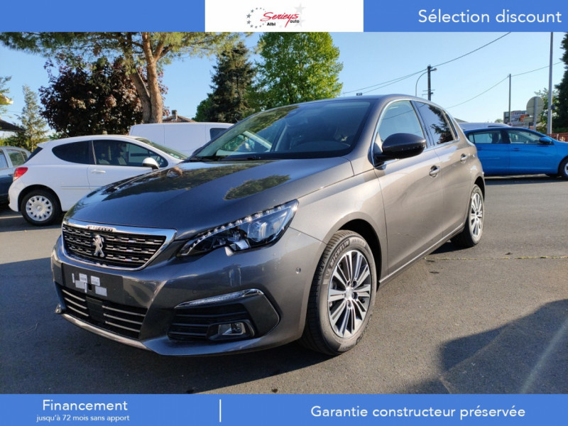 Peugeot 308 Allure Pack BlueHDI 130 LED+PK ASSIST Diesel GRIS PLATINIUM METAL Neuf à vendre
