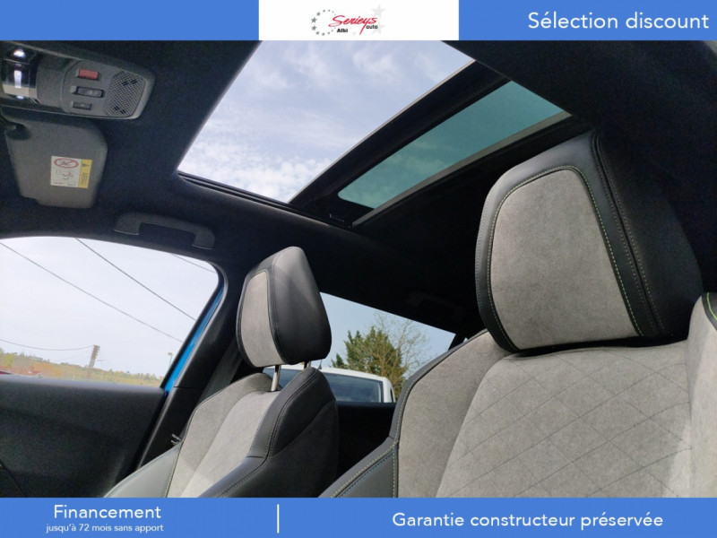 Photo 13 de l'offre de PEUGEOT 2008 GT ELEC 136CV TOIT PANO+CAM AR à 28800€ chez Garage Serieys Auto