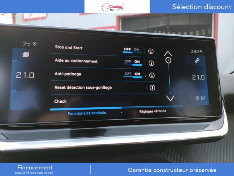 Photo 7 de l'offre de PEUGEOT 208 Allure Pack BlueHDi 100 Camera AR GPS à 19380€ chez Garage Serieys Auto