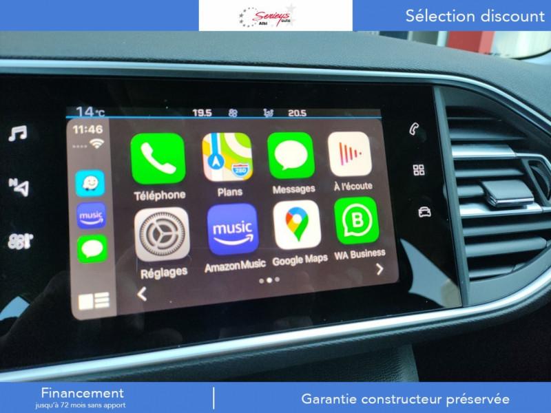 Photo 18 de l'offre de PEUGEOT 308 Active Pack BlueHDi 130 GPS+Camera AR à 20980€ chez Garage Serieys Auto
