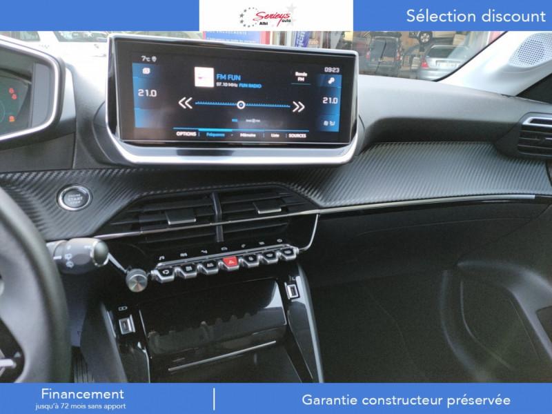 Photo 15 de l'offre de PEUGEOT 208 Allure Pack BlueHDi 100 Camera AR GPS à 19380€ chez Garage Serieys Auto