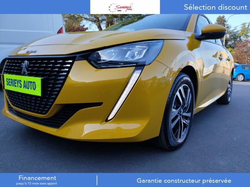 Photo 4 de l'offre de PEUGEOT 208 Allure Pack BlueHDi 100 Camera AR GPS à 19380€ chez Garage Serieys Auto
