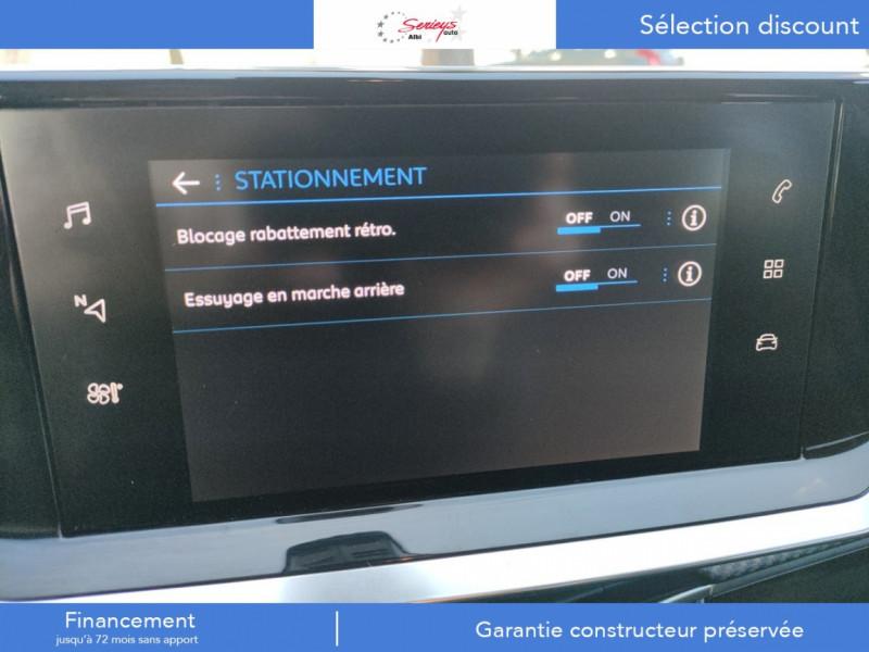 Photo 28 de l'offre de PEUGEOT 208 Allure Pack BlueHDI 100 Camera AR à 19680€ chez Garage Serieys Auto