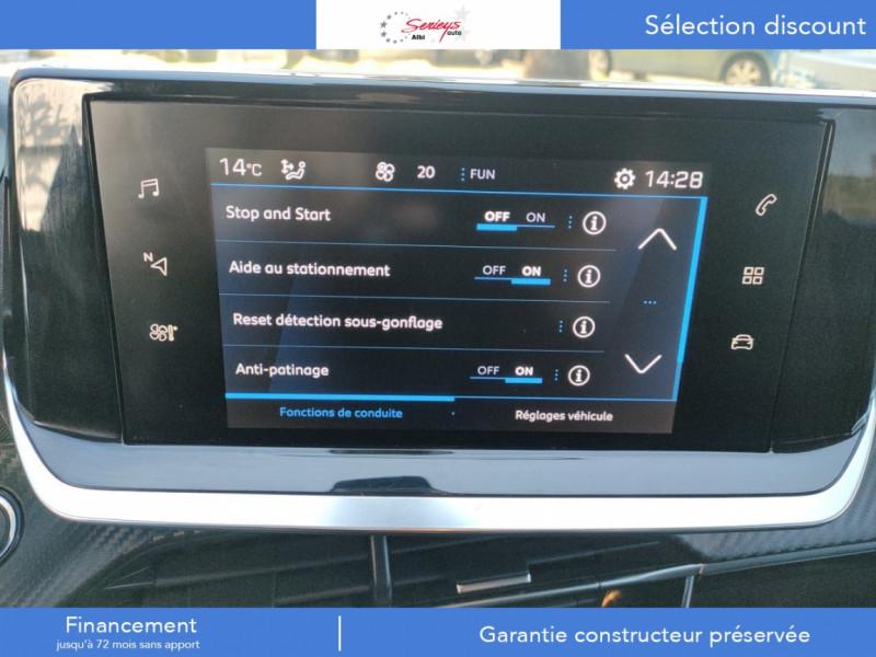 Photo 26 de l'offre de PEUGEOT 208 Allure Pack BlueHDI 100 Camera AR à 19680€ chez Garage Serieys Auto