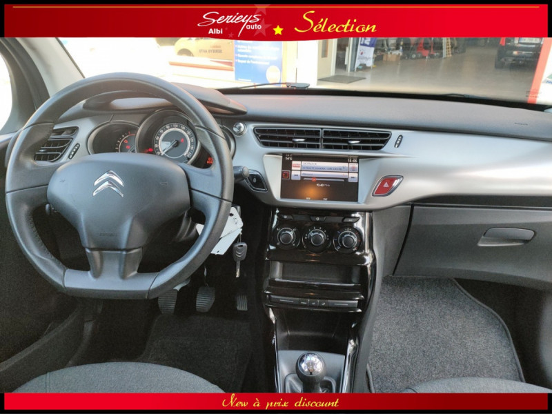 Photo 9 de l'offre de CITROEN C3 Feel Edition BlueHDi 75 GPS+CAMERA+JA à 9680€ chez Garage Serieys Auto