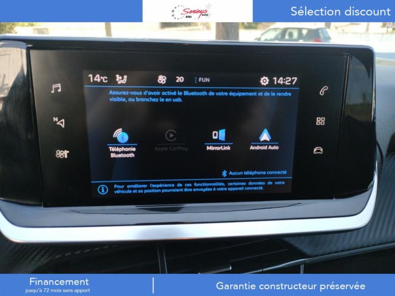 Photo 2 de l'offre de PEUGEOT 208 Allure Pack BlueHDI 100 Camera AR à 19680€ chez Garage Serieys Auto