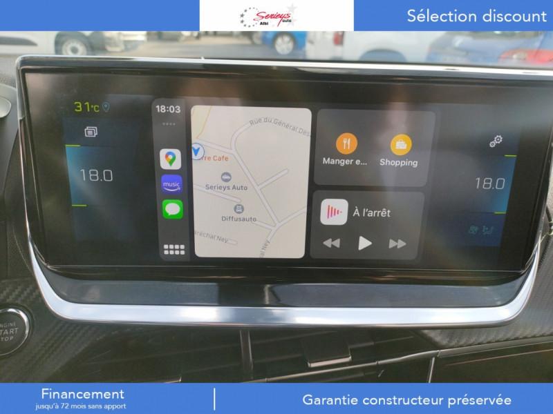 Photo 8 de l'offre de PEUGEOT 2008 GT ELEC 136CV TOIT PANO+CAM AR à 28800€ chez Garage Serieys Auto