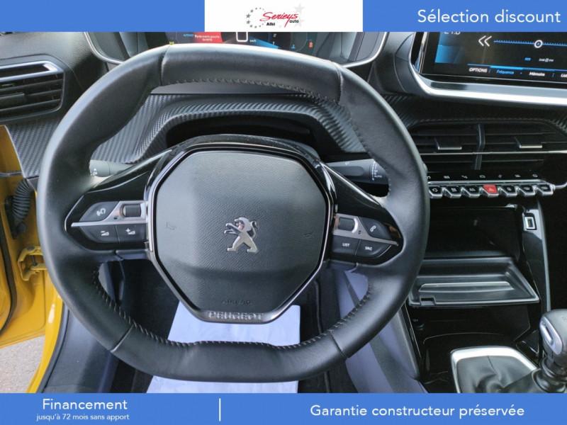 Photo 8 de l'offre de PEUGEOT 208 Allure Pack BlueHDi 100 Camera AR GPS à 19380€ chez Garage Serieys Auto
