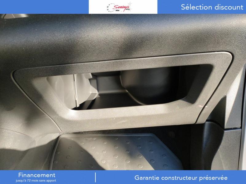 Photo 21 de l'offre de PEUGEOT PARTNER FGN PRO BLUEHDI 100 STD CAMERA+3PL à 18480€ chez Garage Serieys Auto