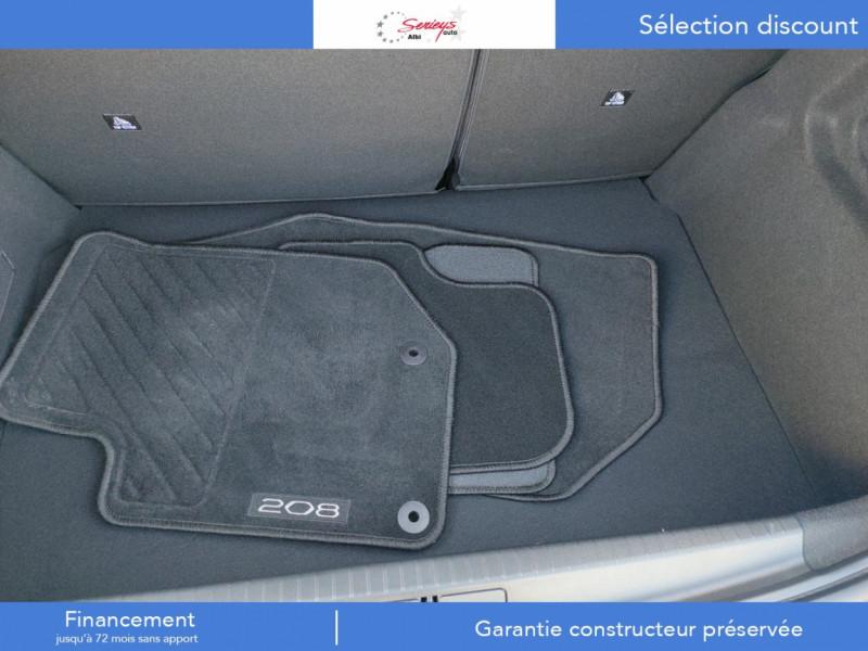 Photo 15 de l'offre de PEUGEOT 208 Allure Pack BlueHDI 100 Camera AR à 19680€ chez Garage Serieys Auto