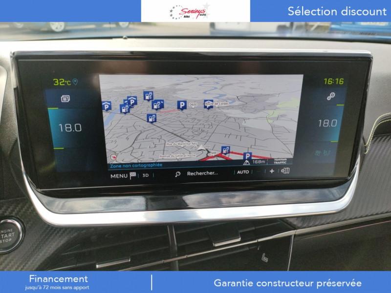 Photo 6 de l'offre de PEUGEOT 2008 GT ELEC 136CV TOIT PANO+CAM AR à 28800€ chez Garage Serieys Auto