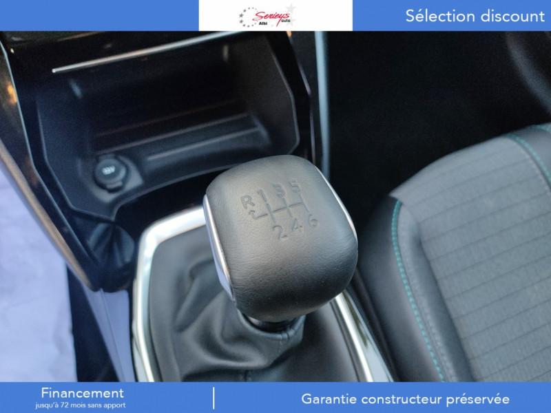Photo 6 de l'offre de PEUGEOT 208 Allure Pack BlueHDI 100 Camera AR à 19680€ chez Garage Serieys Auto